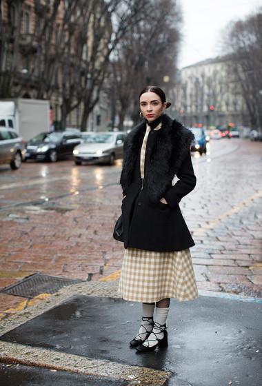On the Street….Via Cusani, Milan