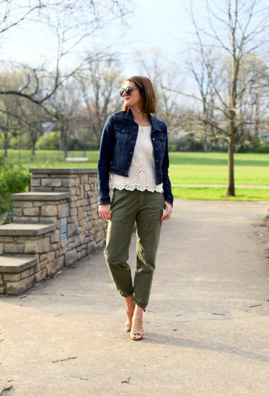 What I Wore | Contrasting Cotton