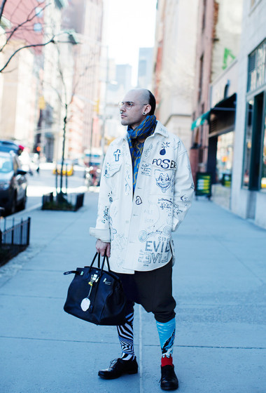 On the Street….Fifth Ave., New York