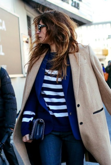Street Style: Caroline de Maigret's Cool Take On Layering