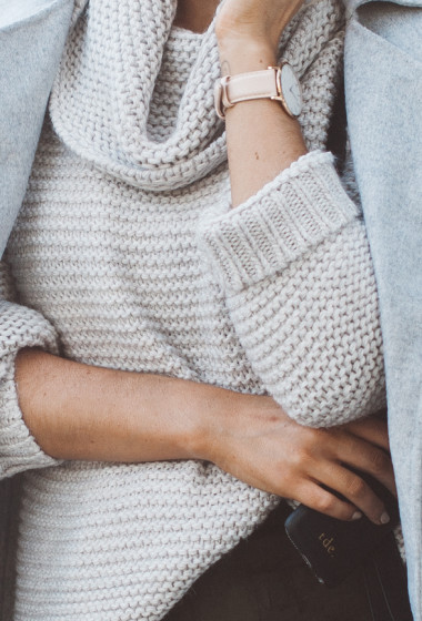 The Chunky Oversized Knit