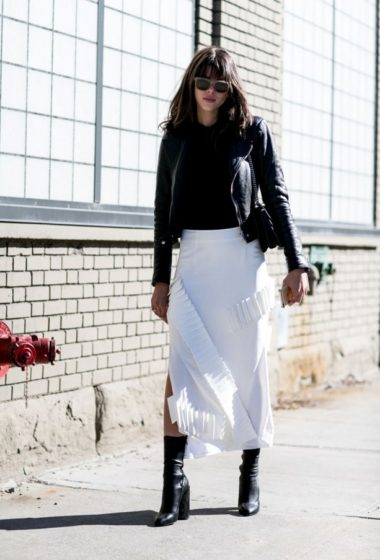 No ordinary black & white: edging up the classic combo in New York