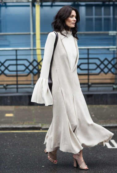 Street Style Trend: Fluted Sleeves and Raw Hemlines