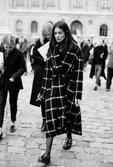 On the Street…Not Half Plaid, Paris & London