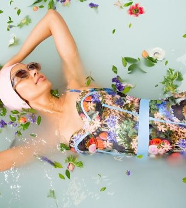 Liberty florals & vintage cuts: High Dive