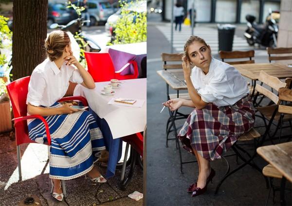 On the Street…A White Shirt, Milan