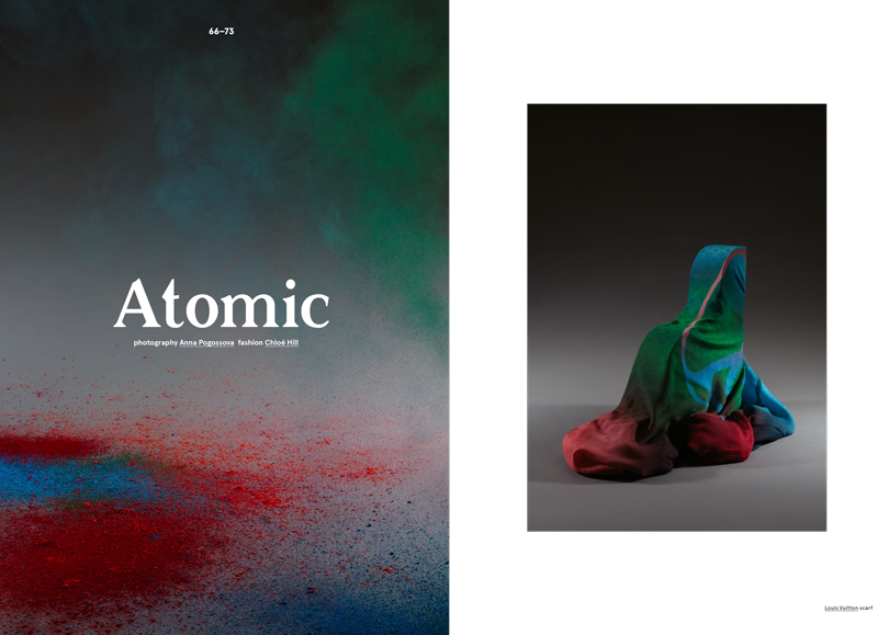 'Atomic' Oyster Issue 108 Styling Chloe Chill