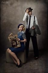 vintage couple No.1