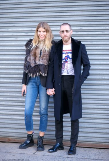 Veronika Heilbrunner and Justin 0 Shea