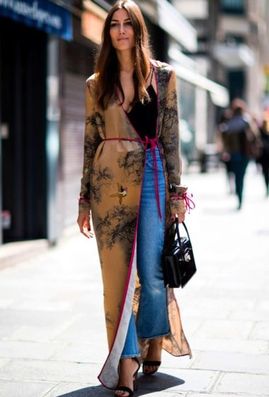 Street Style: 3 Ways To Wear Long Kimono-Inspired Jackets