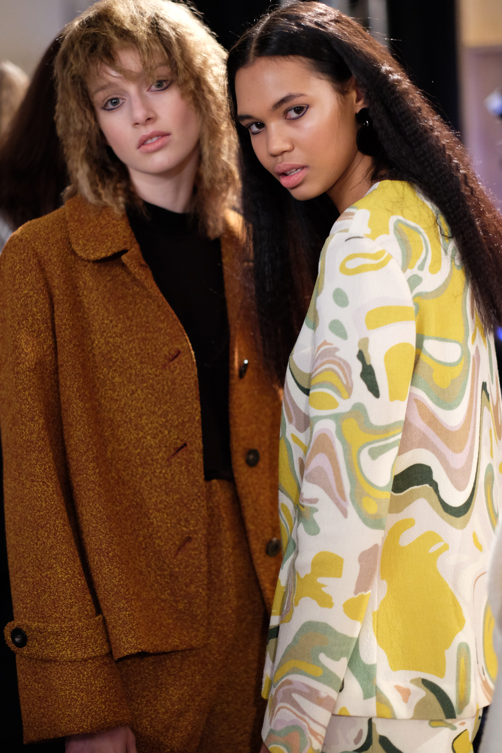 Tess Angel and Jordan backstage at Lucilla Gray's NZFW show | Chloe Hill Fashion Week Coverage 2016