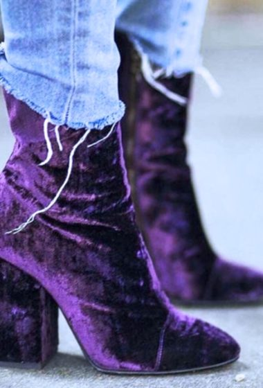 25 Badass Velvet Boots & Shoes
