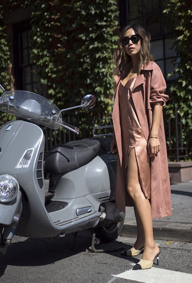 How to Wear Blush Tones for Fall