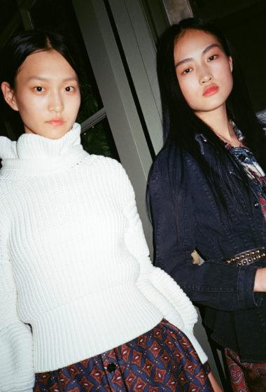 Wangy Xinyu & Jing Wen @ Burberry
