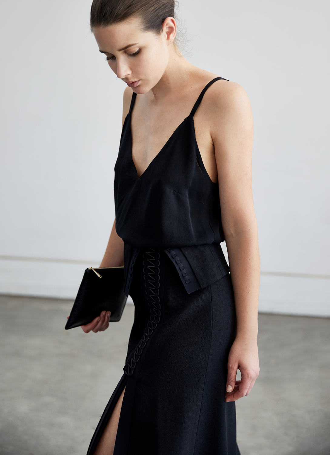 Dion Lee Black Coil Skirt | Style | Black | Outfit | HarperandHarley