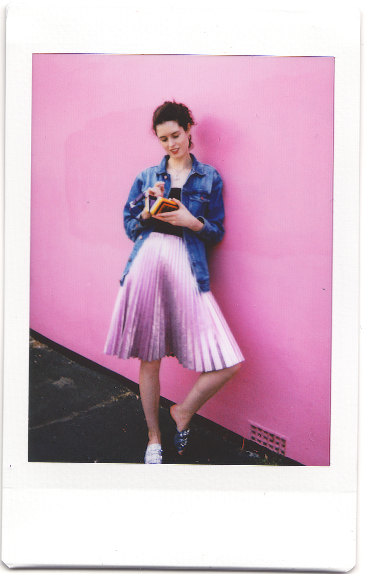 Street Style shot with a Leica Sofort instant camera
