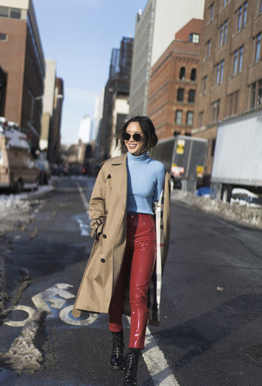Get Aimee Song's Standout Fashion Week Look