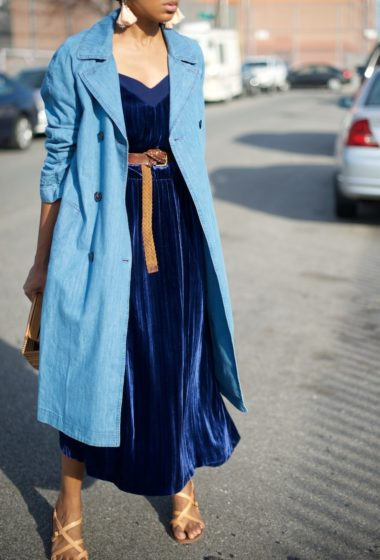 The Denim Trench
