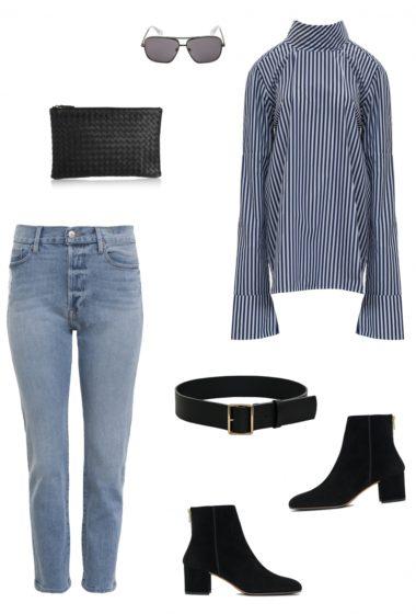 Blue Denim and Stripes