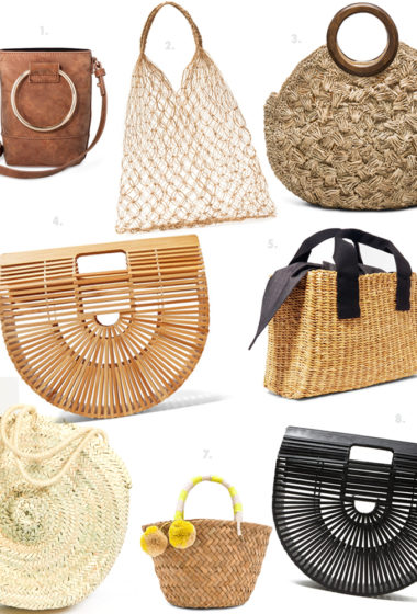 8 Perfect Hand Held Summer Bags