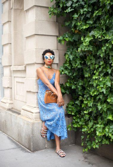 The Lace Dress