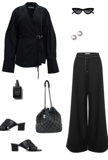 The All Black Outfit Inspo Collages Are Back