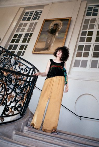 Sonia Rykiel & Celeste Tesoriero in Paris