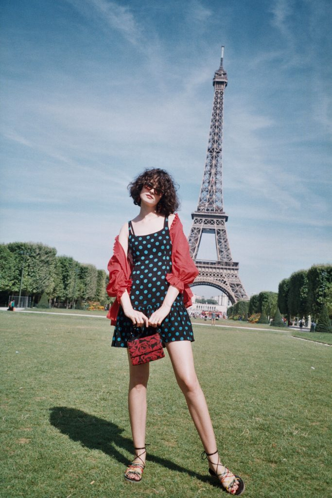 At The Eiffel Tower in Paris