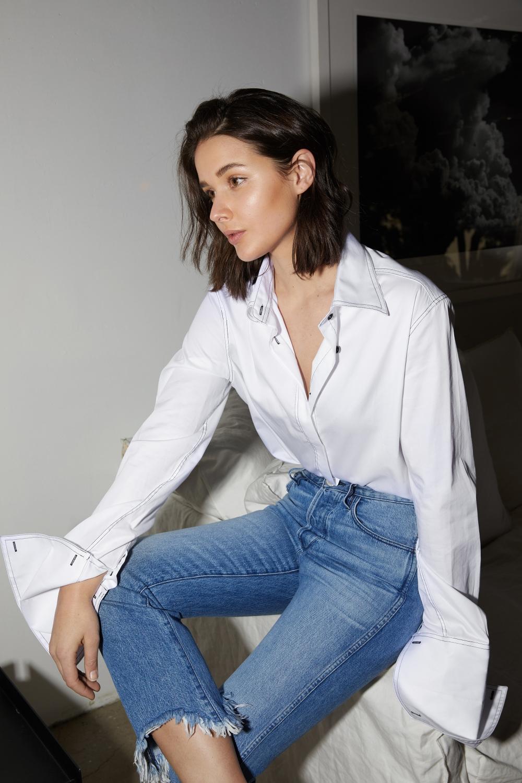 HarperandHarley   Anna Quan   Denim   Shirting   Style