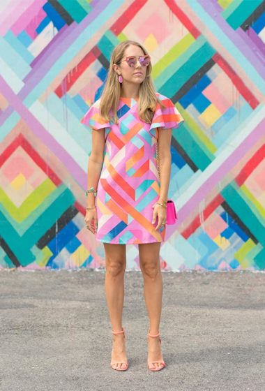 Today's Everyday Fashion: The Travel Fiasco and The Rainbow Wall