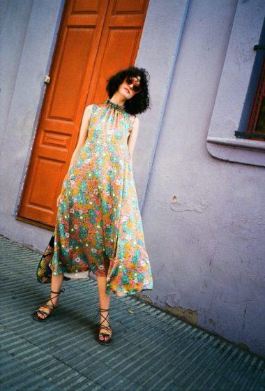 Kate Sylvester at Park Güell, Barcelona