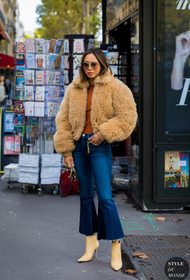 Achieve Aimee Song's Cozy Fall Look