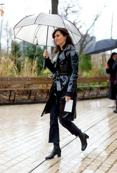 Get This French Editor's Perfect Rainy Day Look