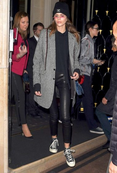 Before The Chanel Show, Kaia Gerber Sported Converse