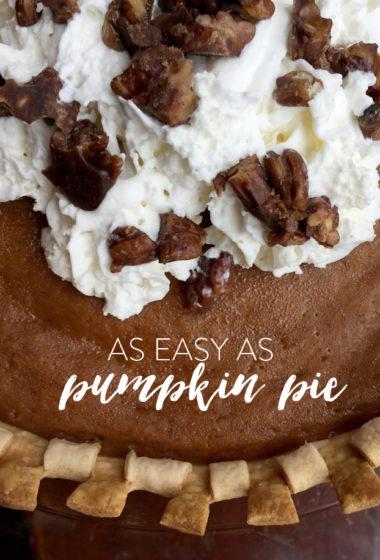 Pumpkin Pie 101